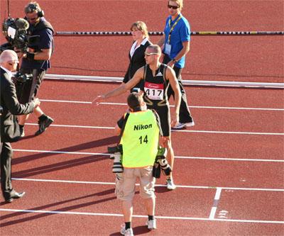 Wariner har precis för första gången i karriären sprungit 400m under 44 sekunder