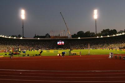 En magisk sensommarkväll vid Stockholm Stadion