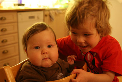 Mina två rackar-ungar